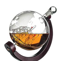 Karafka globus na podstawce