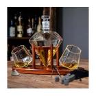 Diamentowy zestaw do whisky