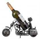 Stojak na butelkę Motocyklista