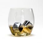 Eleganckie metalowe kostki lodu do drinków