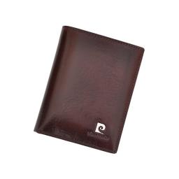 Brązowy portfel Pierre Cardin