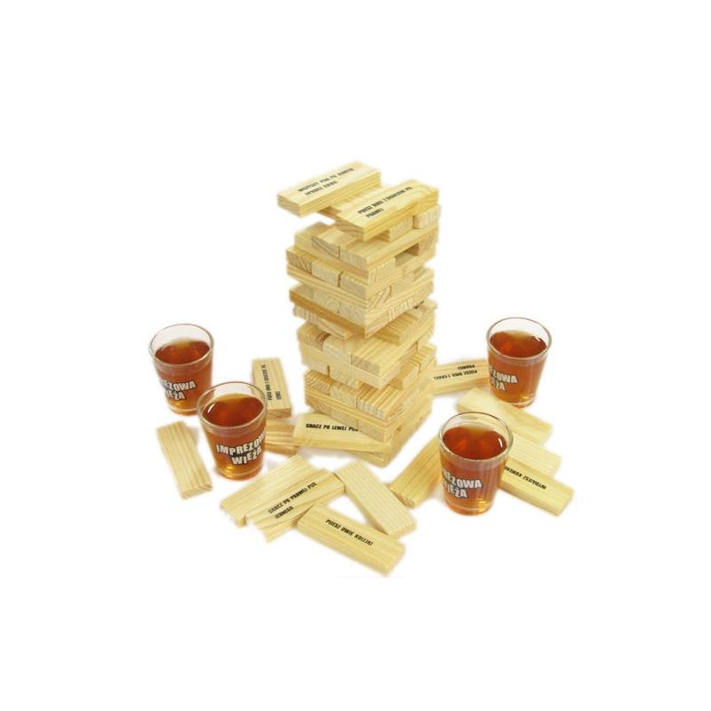 Imprezowa wieża - idealny atrybut dobrej imprezy