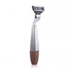 Zestaw na stojaku do golenia z miską i wkład MACH3