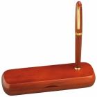 Pióro i długopis w drewnie