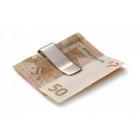 Klip na pieniądze Hap Philippi, nikiel polerowany