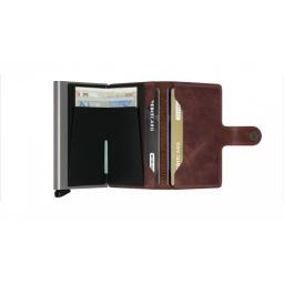 Portfel Miniwallet Vintage Brown