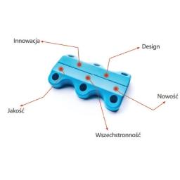 Niebieskie Magnetyczne Sznurówki Clicks.life™