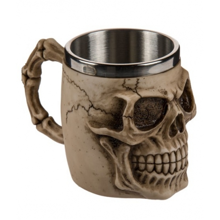 Kubek, kufel czaszka Skull