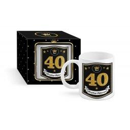 Kubek na 40 urodziny