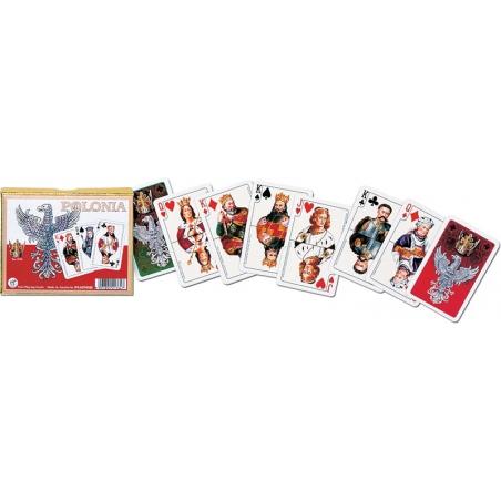 Luksusowe karty POLONIA, 2 talie - Piatnik