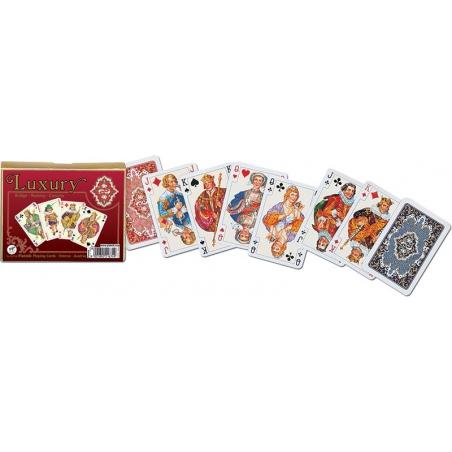 Ponadczasowe karty Luxury, 2 talie, Piatnik