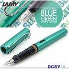 Pióro wieczne LAMY Al-star bluegreen, stalówka M