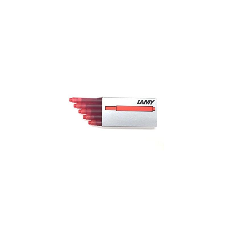 Naboje atramentowe LAMY T10, 5szt, czerwone