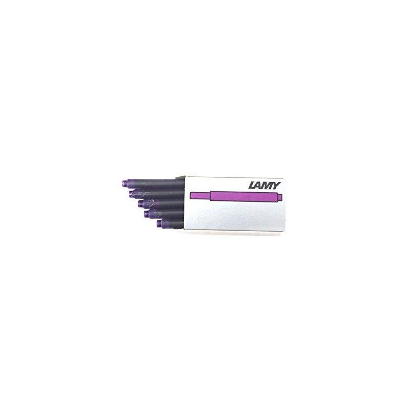 Naboje atramentowe LAMY T10, 5szt, fioletowe