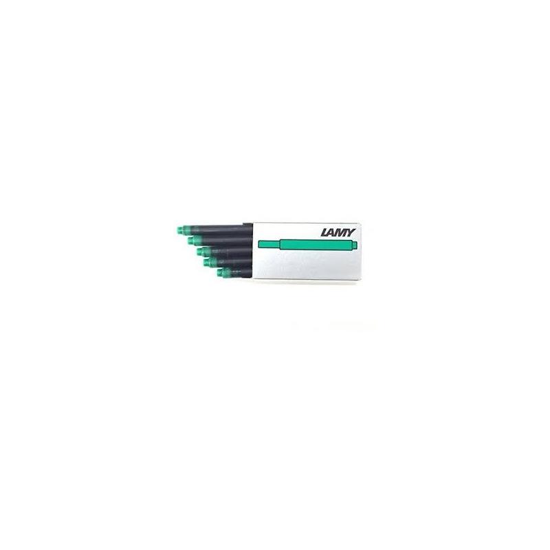 Naboje atramentowe LAMY T10, 5szt, zielone