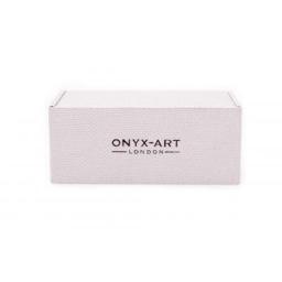 Spinki do mankietów biegi Onyx-Art London