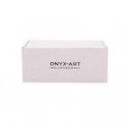 Spinki do mankietów butelka wódki Onyx-Art London