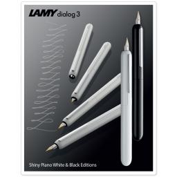 LAMY Dialog3  Pianowhite