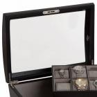Eleganckie etui na 14 zegarków i biżuterię ROYCE Mele & CO