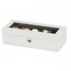 Nowoczesne pudełko na 5 zegarków JAMES Mele & CO.