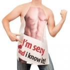 Sexowny fartuszek dla niego. Męski fartuch kuchenny