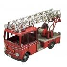 Wóz strażacki, wóz drabiniasty w stylu retro, piękna replika