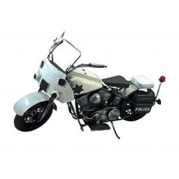 Motocykl policyjny replika w stylu retro