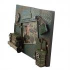 Ramka na fotografię dla żołnierza w stylu militarnym