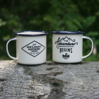 Zestaw 2 kubków na podwójne espresso Wild & Wolf