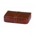 Brązowe pudełko na spinki do mankietów MASON Mele & Co.