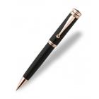 Długopis Montegrappa Ducale czarny z różowym złotem