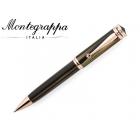 Długopis Montegrappa Ducale brązowy z różowym złotem