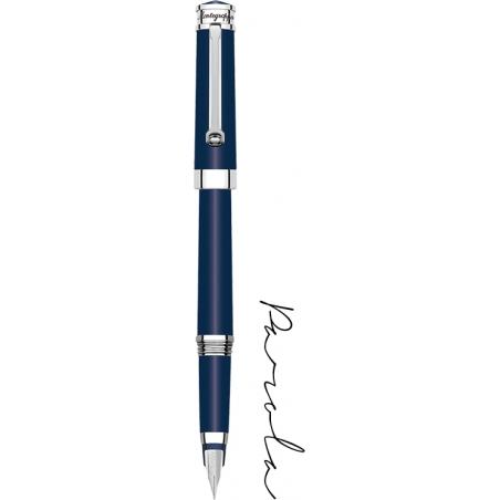 Pióro wieczne Montegrappa Parola ciemnoniebieskie, stalówka F