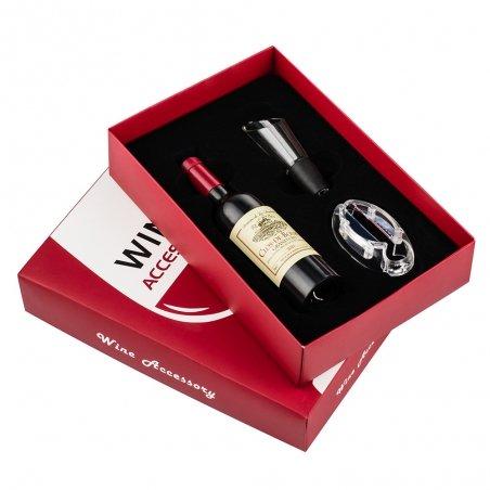 3-elementowy zestaw akcesoriów do wina