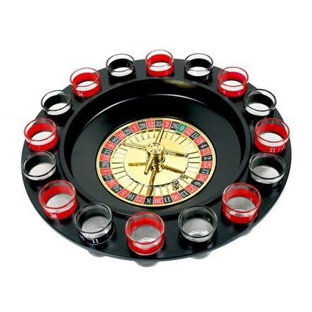 Imprezowa ruletka - gra alkoholowa