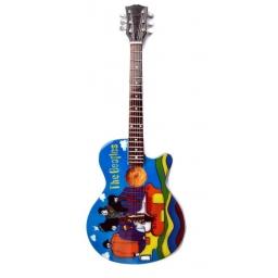 Miniaturowa replika gitary The Beatles Yellow Submarine John Lennon