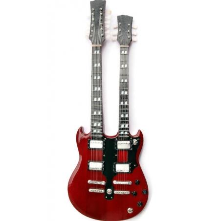 Miniaturowa replika gitary, gitara Jimmy Page Led Zeppelin