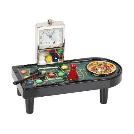 Zegarek stół do gry w ruletkę Monte Carlo
