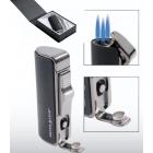 Zapalniczka żarowa Silver Match 3 dysze z metalicznymi dodatkami