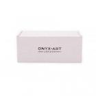 Spinki do mankietów Kotwica Elegant Onyx-Art London.