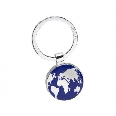 Chromowany brelok do kluczy dla podróżnika -TROIKA