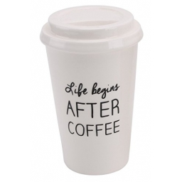 Skarbonka kubek na kawę na wynos