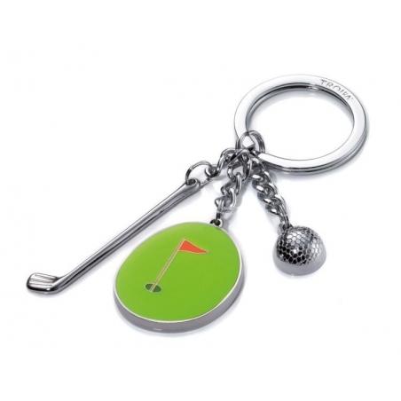 Brelok dla golfisty. Kij, piłeczka, dołek-TROIKA