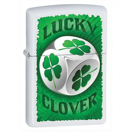 Zapalniczka ZIPPO na szczęście Koniczyna Lucky Clover