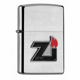Zapalniczka Zippo Emblem Brushed Chrome