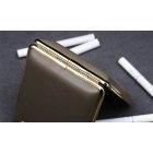 Elegancka papierośnica jasny brąz V.H Collection