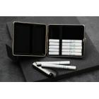 Biała papierośnica na klasyczne papierosy V.H Collection