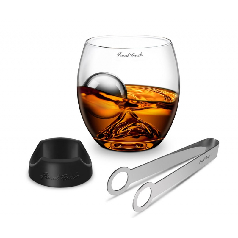 Elegancki zestaw do whisky Rock Glass Final Touch