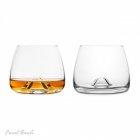 Zestaw 2 szklanek do whisky Final Touch wzmocnione szkło