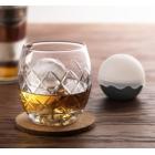 Elegancka szklanka do whisky i forma do lodu, zestaw do whisky Final Touch